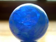 Blue Rubber Ball